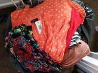 Ladies clothes 2 wheelie bin liners full! Size 10-12