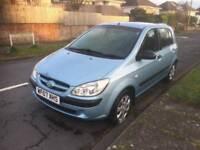 Hyundai Getz 2007 1.5 diesel, £30 Road tax, 50+ mpg