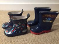 Boys toddler wellies size 4