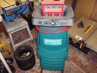 a bosch axt rapid 180 shredder