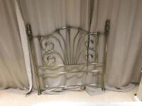 Double Ornate Headboard (4ft 6in)