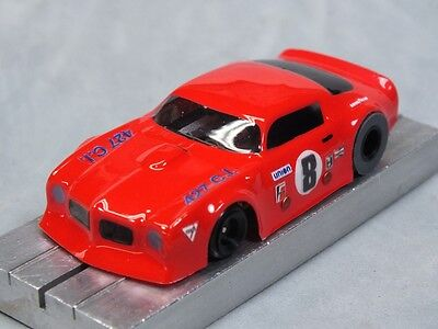 Car Parts - HO Slot Car Parts - Firebird Trans-Am - .010 Lexan Body Lot of 2 - w/ MASK Kits