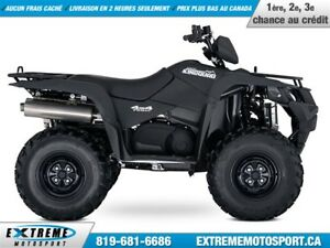 2018 Suzuki KingQuad 500AXi Power Steering !!! 400$ DE RABAIS !!