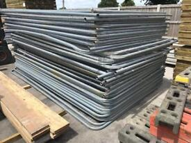 🚧 TEMPORARY HERAS FENCING PANELS X 50 > USED