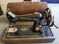 lovely vintage Singer sewing machine