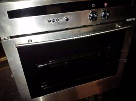 integrated single electric oven by NEFF in excellent condition can deliver