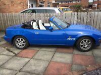 Lovely clean convertible Mazda Eunos