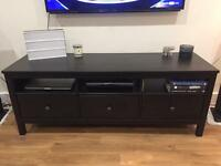 Black/Brown TV Bench in Immaculate Condition! Rrp £190 .. £110 ONO!!