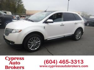 2011 Lincoln MKX Navigation, Leather & DVD