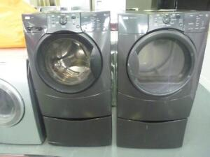 3 - Laveuse Sécheuse Frontales KENMORE HE3T  Frontload  Washer Dryer