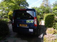 E7 peogeot taxi 8 seater(incluing) driver , 138000