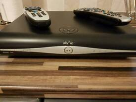 Sky HD Box with two free remotes