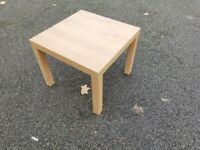 IKEA Oak Square Coffee/Lamp Table FREE DELIVERY 673