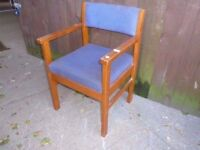 Wooden Office Study Desk Chair Delivery Available £5