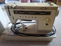 Singer sewing machine - vintage - just serviced