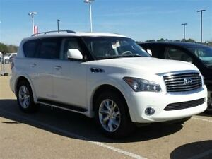 2011 Infiniti QX56 7 Pass., Navi 360 Camera, DVD, Loaded