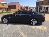 BMW 5 SERIES 3.0 530d SE 4dr.1 Owner, Full service history, Black,New tyres,Paddle shift 10990 O.N.O