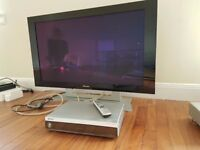 Pioneer home cinema system 43inch plasma tv/monitor 7.1 AV receiver and multi format dvd player