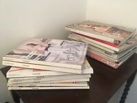Selection of Vogue, Marie Claire and LOVE Magazines