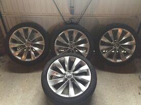 Volkswagen 18 inch Alloy wheels