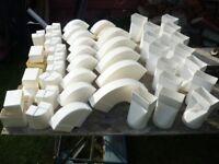 Extractor ducting 50 x 100 mm job lot