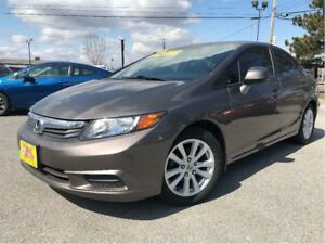 2012 Honda Civic EX-L LEATHER NAVIGATION MOONROOF