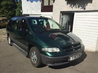 Chrysler Grand Voyager, diesel 7 seater mpv people carrier