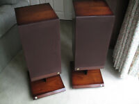 "Speakers – Pembroke II by ""Castle Acoustics"", complete with Conway Stands"