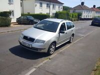 2003 Skoda Fabia 1.9tdi estate, long MOT, economic cheap to run