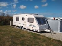 Sterling Elite Eccles fixed bed caravan - Excellent and dry throughout