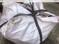 Large dumpy bags , garden , construction