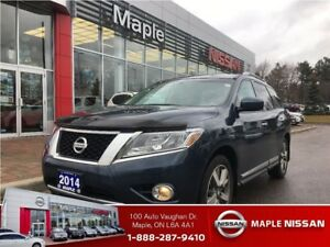 2014 Nissan Pathfinder Platinium 4wd-Leather,Navi,7 Seats!