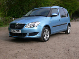 Lovely Petrol Auto SKODA Roomster