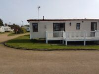 Static Caravan with decking for sale near Great Yarmouth Norfolk Broads. Not Haven, Essex or Suffolk