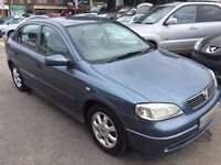 2001/Y VAUXHALL ASTRA 1.6 16V CLUB AUTOMATIC,LOW MILEAGE,EXCELLENT CONDITION,LOOKS+DRIVES WELL