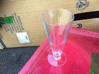 Sundae/ knickerbocker glory glasses 20 boxed