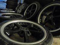 "19"" AC SCHNITZER bmw Alloys Wheels 3 5 Series Vw T5 E36 E46 e30 e39 z3 z4"