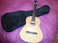 Spanish classical guitar 3/4 size