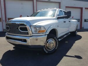 2010 Dodge Ram 3500 CUMMINS DIESEL 6.7l / 6 SPEED/4X4/ CREWCAB
