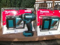 NEW! Genuine Makita DC18RC 7.2v -18v Li Ion Battery Rapid Charger Cost £58.98!