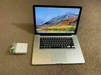"15.4"" Apple MacBook Pro Retina Quad Core i7 2.3Ghz 8GB 251GB SSD Premiere Pro After Affects FCPX"