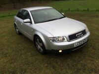 Audi A4 2003, automatic, diesel, saloon, full S/h, Hpi clear,drives very good, clean car