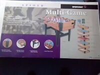 8 Table top games in one set