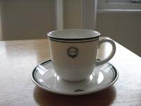 Raffles Tea Cup and Saucer