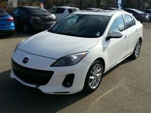 2013 Mazda MAZDA3 GT Navi, Sunroof & Leather