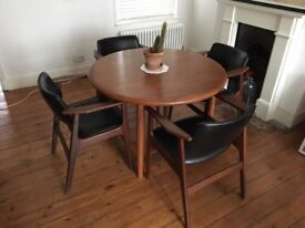 Mid Century Dining Table & Chairs - EXCELLENT CONDITION