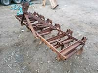 Original David Brown tractor 9 Tyne cultivator with spare tynes