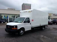 2015 GMC Savana 3500, Cube Van, 16 Foot