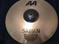 """Sabian AA Metal-X Ride Cymbal (20"""")"""