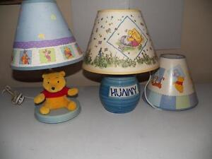 Winnie the Pooh lamps